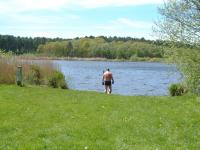Attached Image: me_wading_into_Hatcmere13-5-12.JPG
